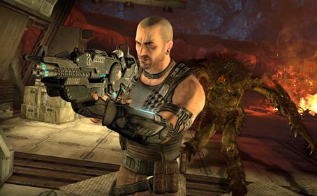 Red Faction: Armageddon alien screenshot