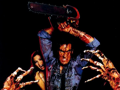 Bruce Campbell som Ash i Evil Dead