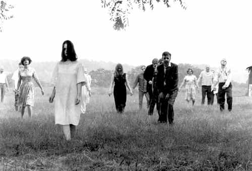 Night of the living dead zombiefilm