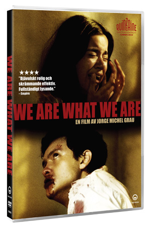 We are what we are dvd pack