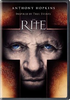 The Rite poster skräckfilm