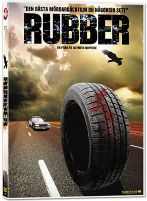 Rubber DVD omslag