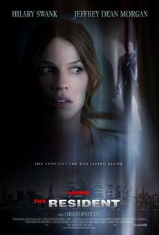 The resident poster skräckfilm