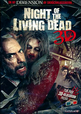 Night of the living dead 3d poster