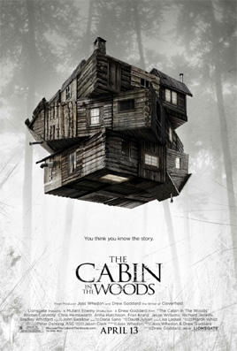 the cabin in the woods poster skräckfilm