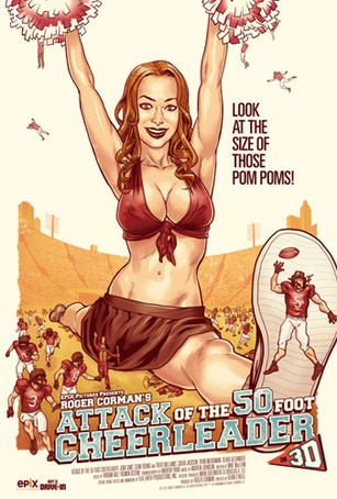 attack of the 50 foot cheerleader roger corman