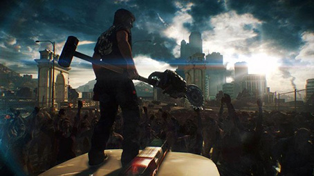 dead rising 3 game screen