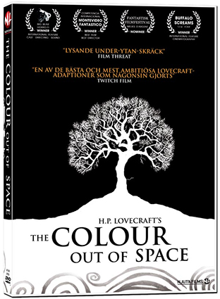 The colour out of space dvd cover