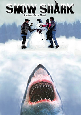 snow shark 2011 dvd cover