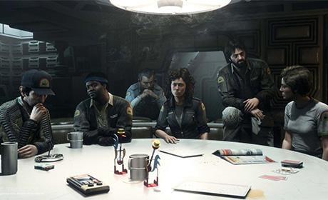 Alien isolation game 2014